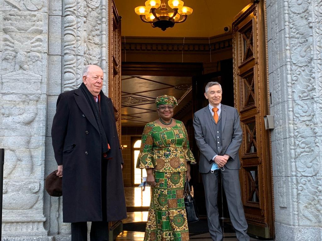 And Madam DG resumes at WTO