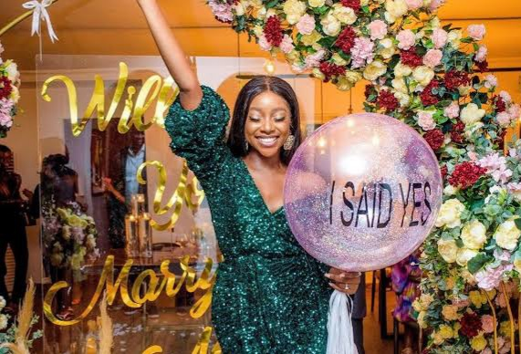Actress Ini Dima-Okojie Says Yes To The Fan That Got Her Bag Of Chocolate From London