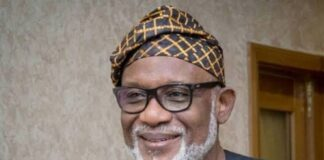 Narrow Escape! Four, Out Of Seven Supreme Court Justices Uphold Akeredolu's Election