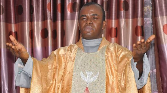 'Their Stubbornness Will Collapse This Country', Mbaka Reacts To Kanu's Arrest
