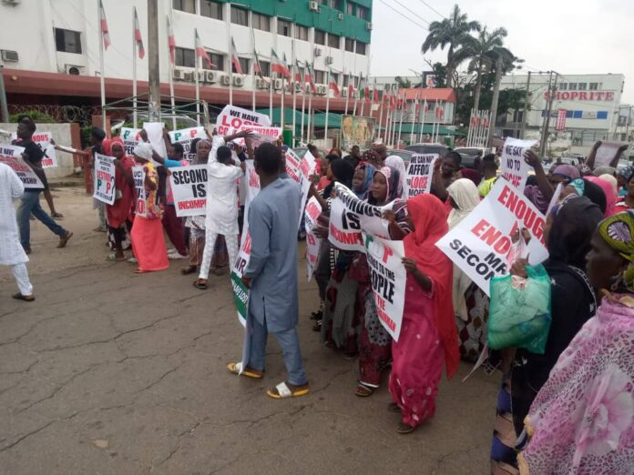 'Secondus Must Go' Protest Intensify Despite Pleas By PDP BoT
