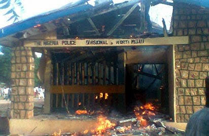 No End In Sight: Four Killed As Gunmen Attack Police Divisional Headquarters in Imo