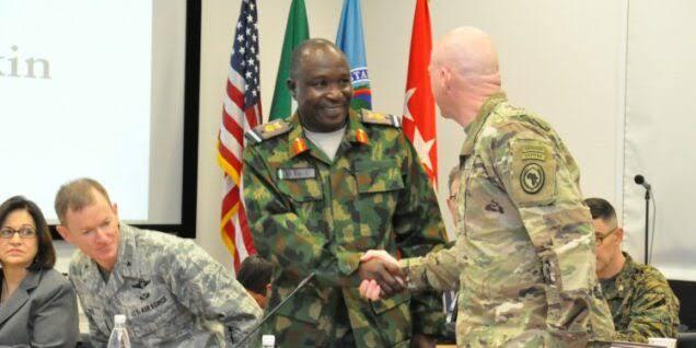 Nigeria's AVM Yakubu Recieves US The 'Legion Of Merit' Award For Exceptional Service
