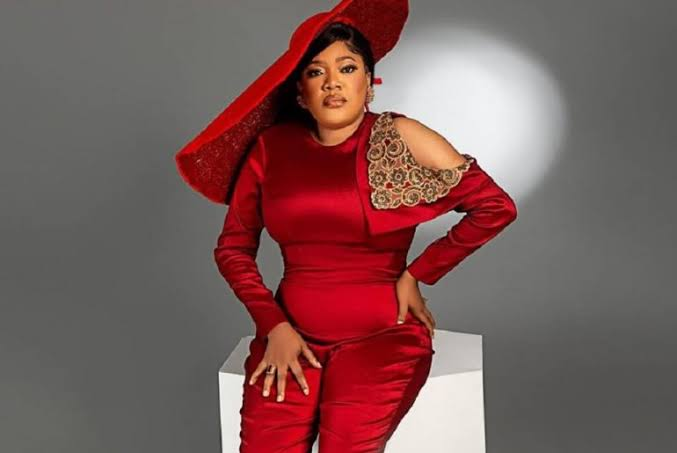 Toyin Abraham In Tears As 'Oniduro' Singer Makes Surprise Appearance For Her Birthday (Video)