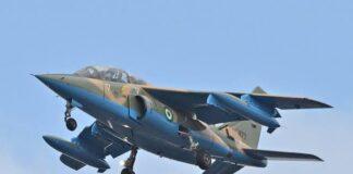 NAF Jet Pounds Insurgent's Hideouts Arround Lake Chad